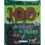 Carte 100 de animale din padure