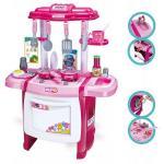 Bucatarie cu sunete pentru copii Ecotoys HC236707