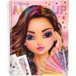 Carte de colorat Create Your Make-Up Top Model Depesche