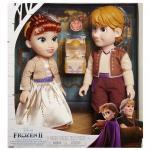 Set papusi Anna si Kristoff Frozen 2