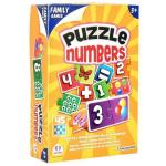 Joc Puzzle cu numere Globo 45 piese