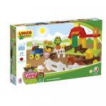 Joc de construit Unico Country Farm 46 piese