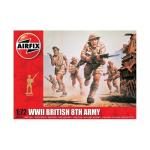 Kit constructie Airfix soldati Wwii British 8th Army 1:72