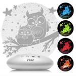 Lampa de veghe ColorLumy Night Owl Reer 52131