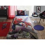 Lenjerie de pat Tac Disney Spiderman Action