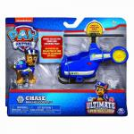 Figurina cu vehicul Patrula Catelusilor Ultimate Rescue Chase