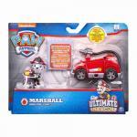 Figurina cu vehicul Patrula Catelusilor Ultimate Rescue Marshall