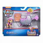 Figurina cu vehicul Patrula Catelusilor Ultimate Rescue Skye
