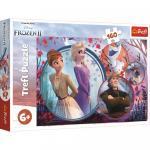 Puzzle Trefl Universul Frozen 2 160 piese