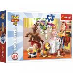 Puzzle Trefl ToyStory 4 Pregatiti de joaca 30 piese