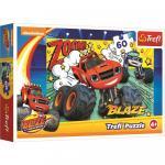 Puzzle Trefl Blaze Cursa Infernala 60 piese