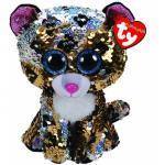 Plus cu paiete leopardul Sterling 24 cm Ty