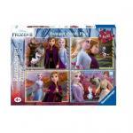 Puzzle Frozen II 4x42 piese