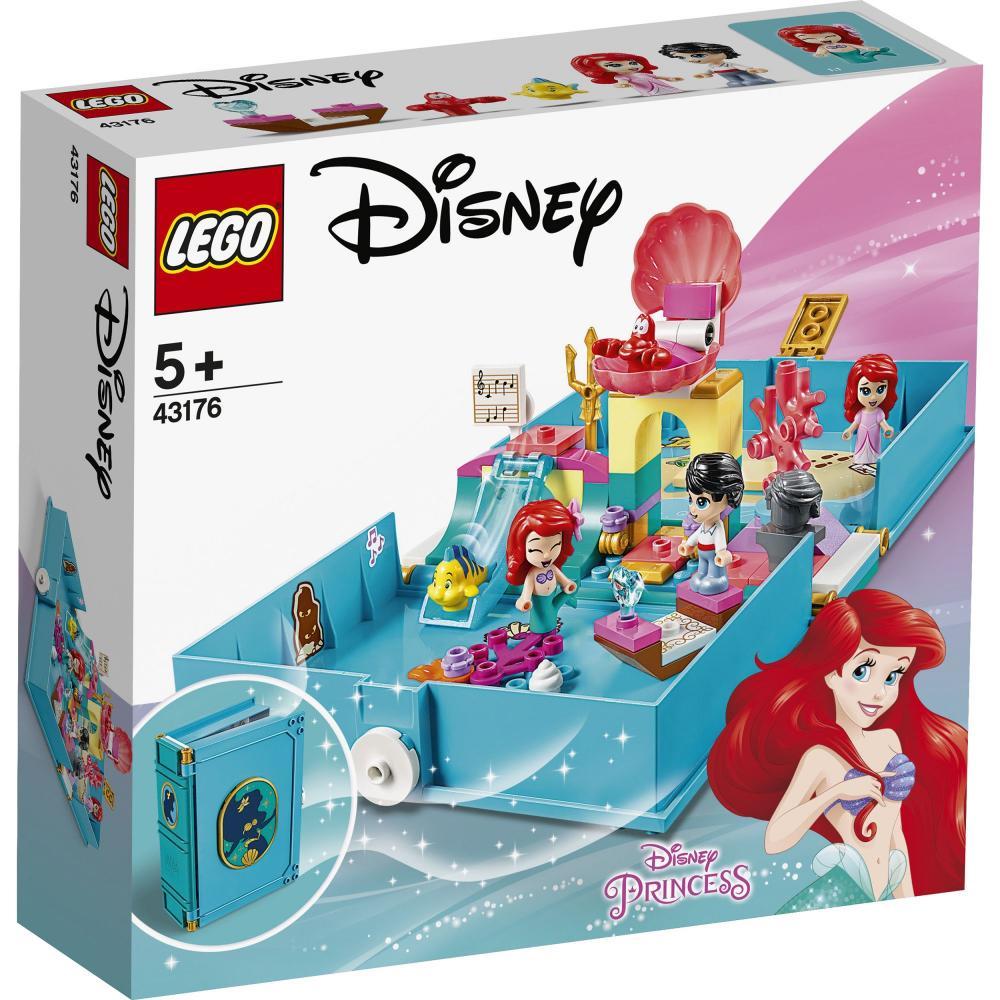Aventuri din cartea de povesti cu Ariel Lego