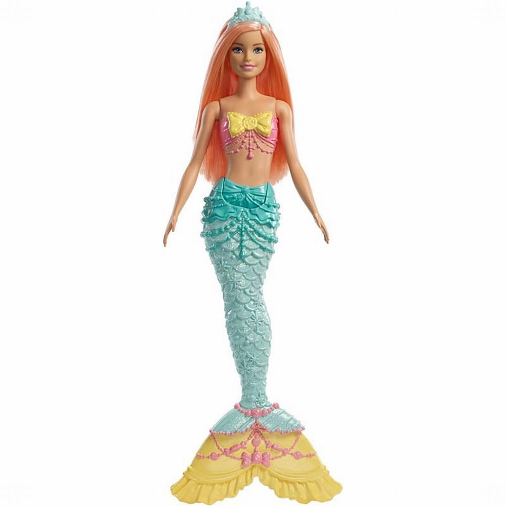 Papusa Barbie Dreamtopia sirena cu parul roz