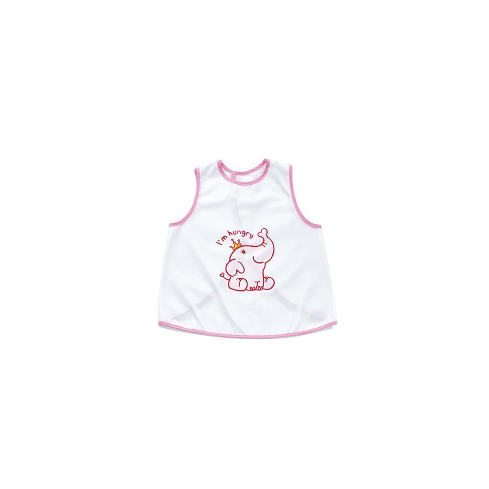 Baveta Pentru Copii Babyjem Elephant Pink