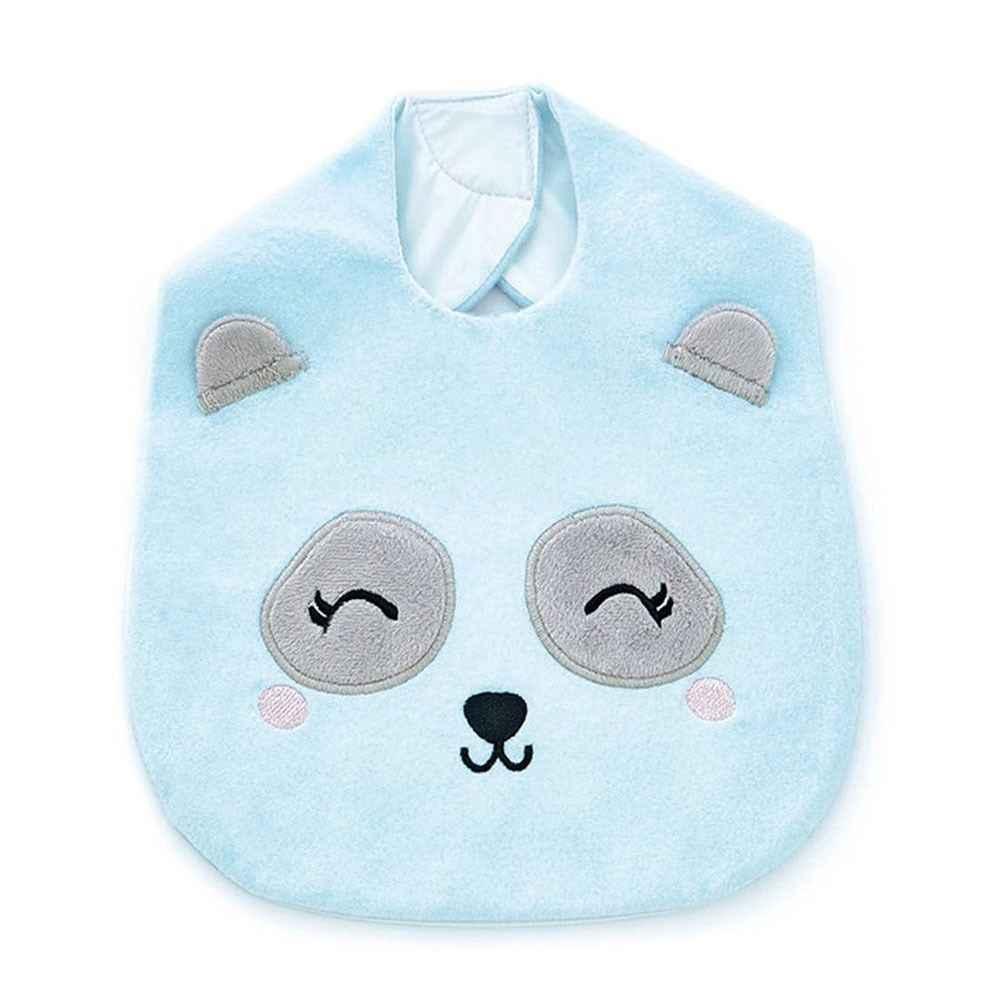 Baveta plusata BabyJem Panda Blue imagine