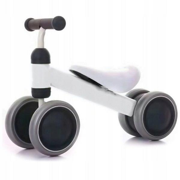 Bicicleta fara pedale Ecotoys JM-118 alb