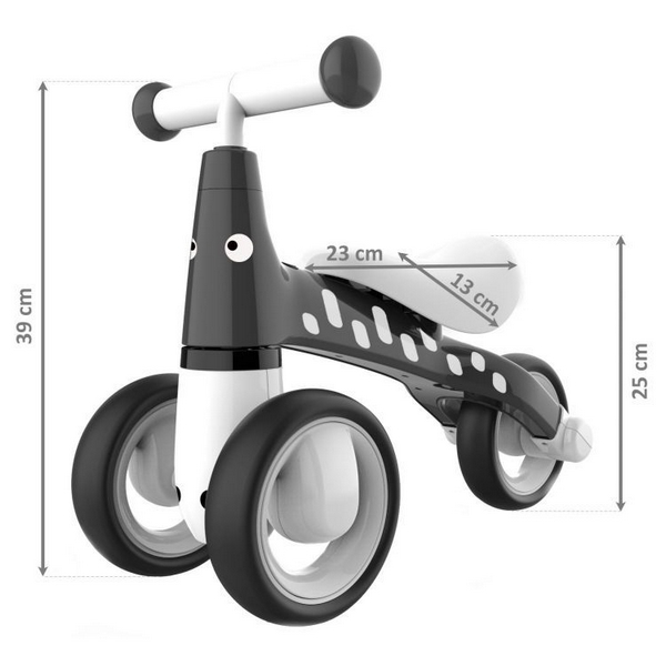 Bicicleta fara pedale Ecotoys LB1603 Negru
