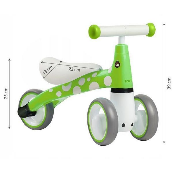 Bicicleta fara pedale Ecotoys LB1603 Verde
