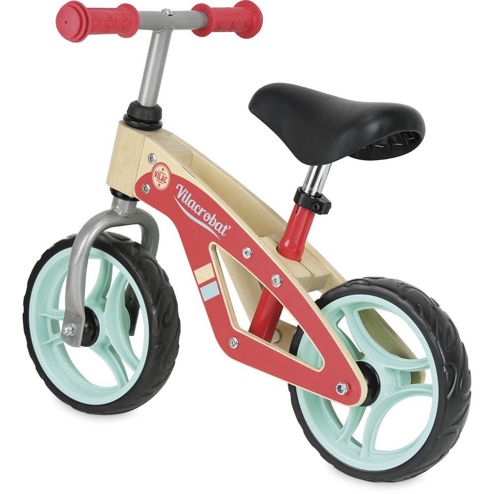 Bicicleta fara pedale din lemn imagine