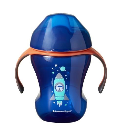 Cana Easy Drink Tommee Tippee 260 ml 6 luni+ albastru imagine