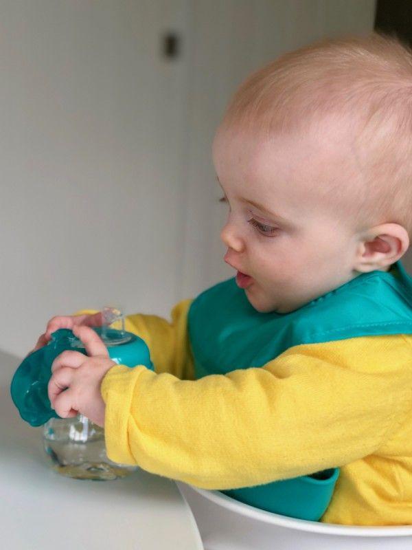 Cana tranzitie anticurgere cu varf moale teal 150 ml