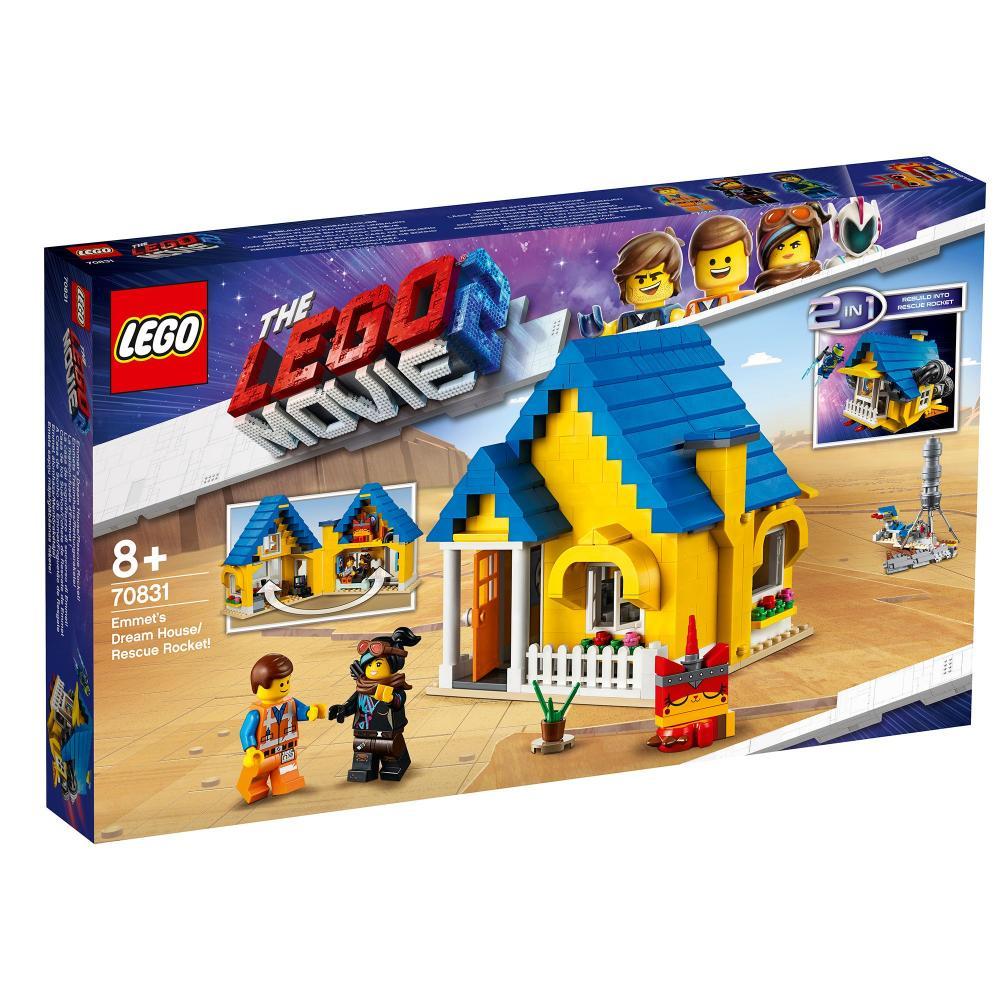 Casa de vis a lui Emmet / Racheta de salvare Lego