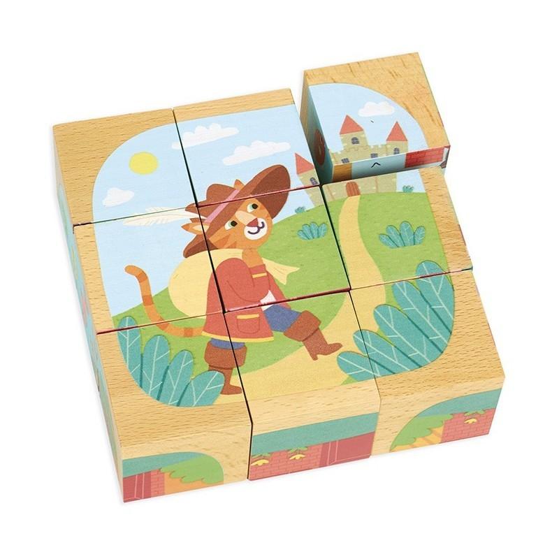Cuburi puzzle poveste