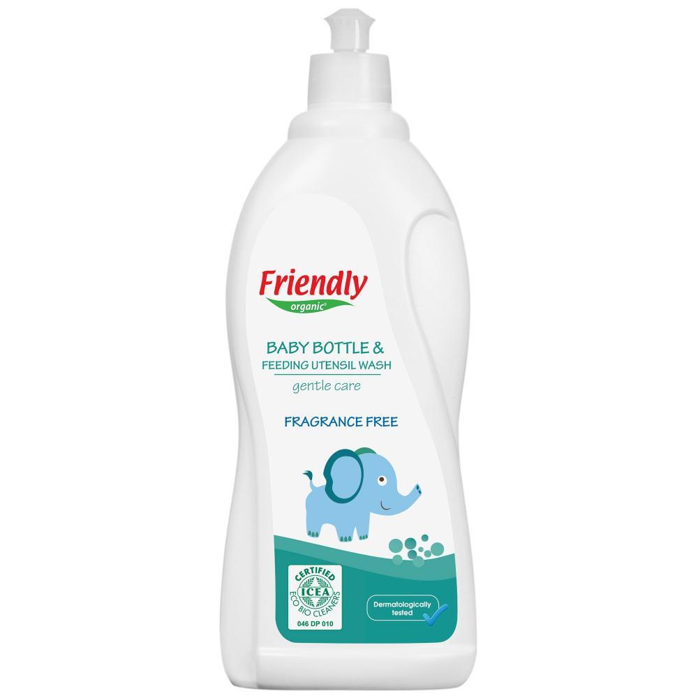 Detergent vase si biberoane Friendly Organic fara miros 750 ml imagine