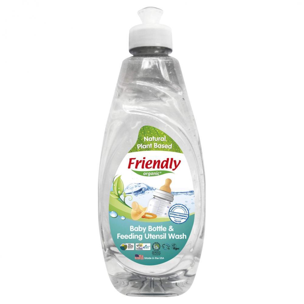 Detergent vase si biberoane fara miros Friendly Organic,414ml