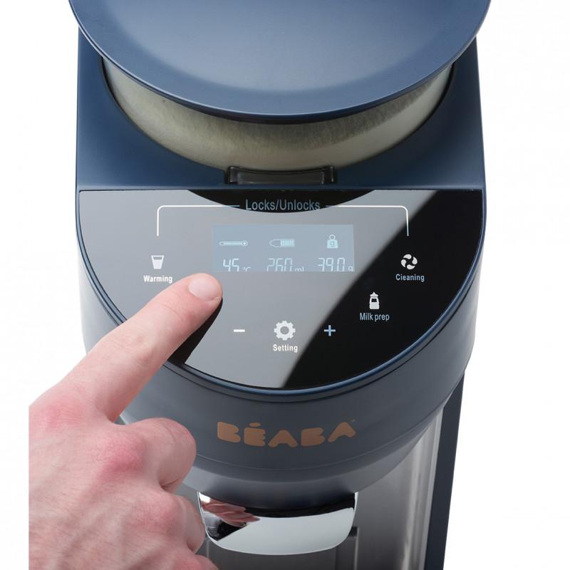 Espressor Lapte Praf Milkeo Night Blue imagine