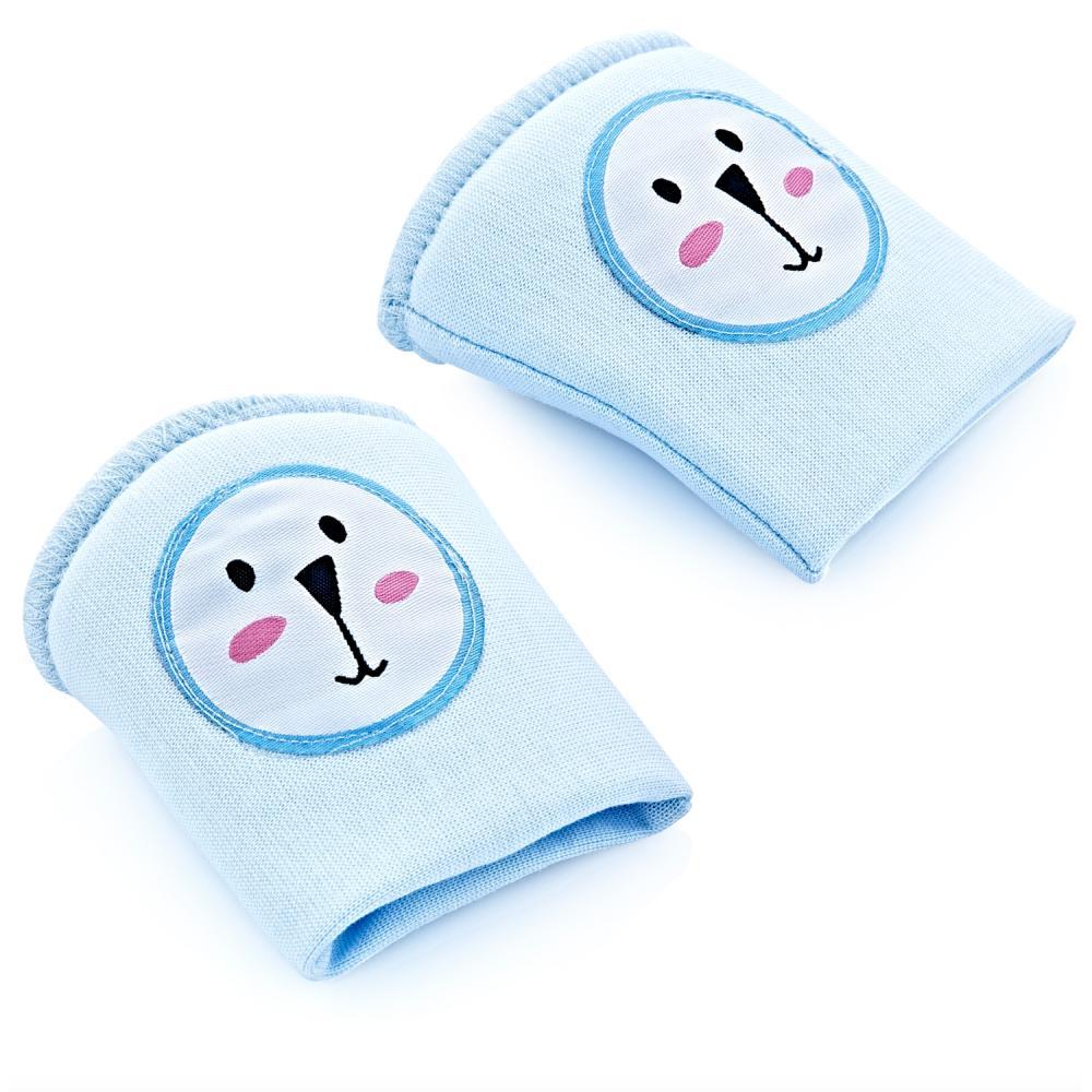 Genunchiere de protectie pentru bebelusi Baby Pad Blue imagine