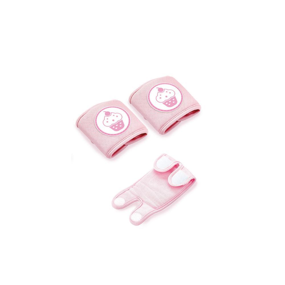 Genunchiere de protectie pentru bebelusi Cupcake Pink imagine