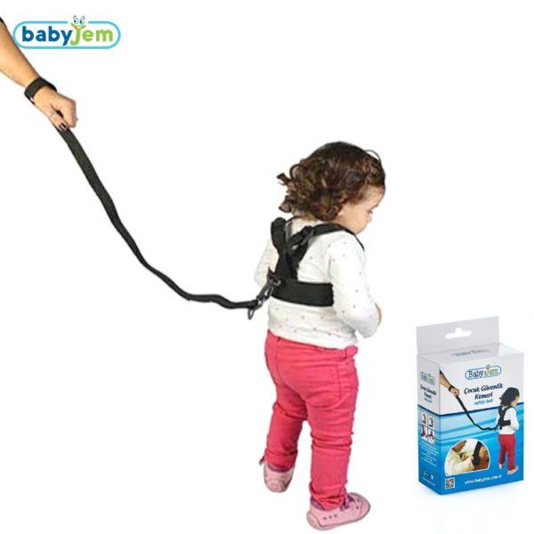 Ham de siguranta BabyJem Safety Belt Black