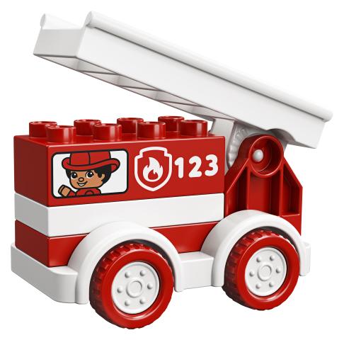 Camionul de pompieri Lego Duplo