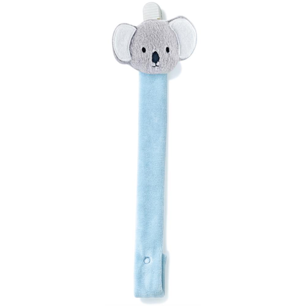 Lantisor pentru suzeta din material textil Koala