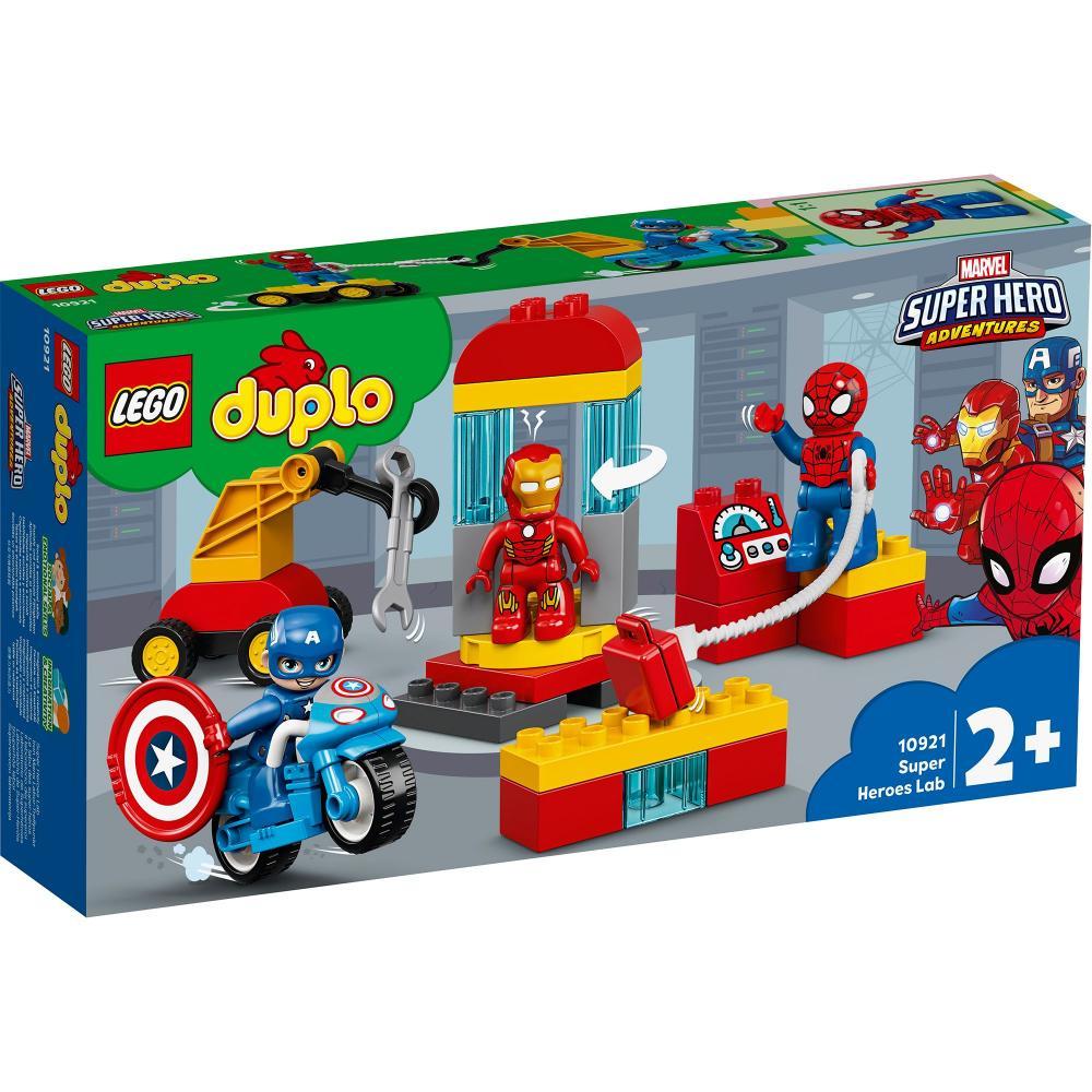 Laboratorul Super Heroes Lego Duplo