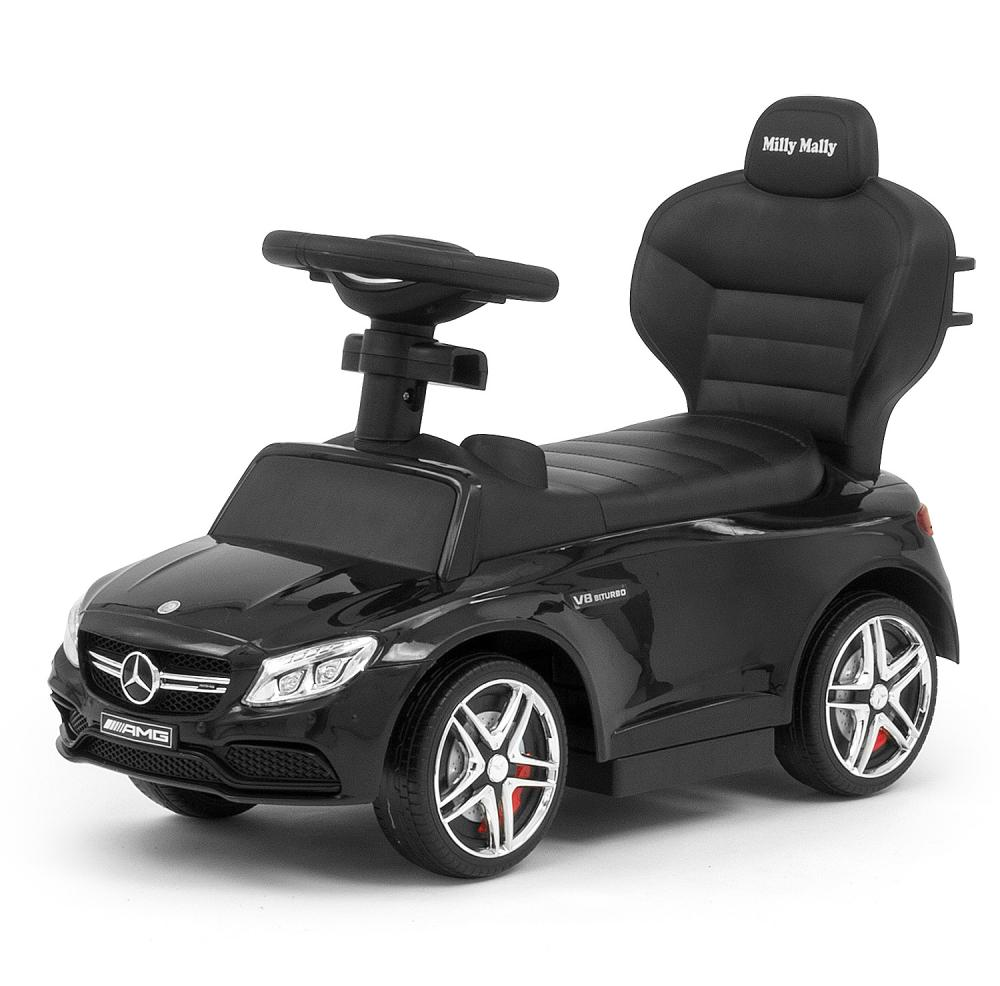 Masinuta copii 3 in 1 Mercedes AMG C63 Black