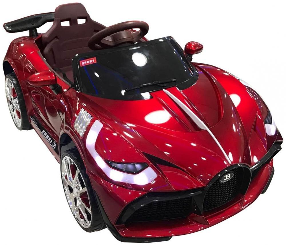 Masinuta electrica cu suspensii si Slow Start Super Car Red