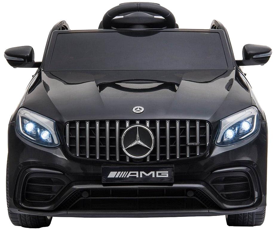 Masinuta electrica Mercedes Benz GLC 63 Negru cu roti din cauciuc - 3