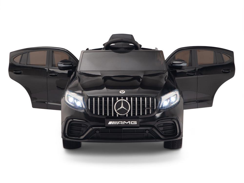 Masinuta electrica Mercedes Benz GLC 63 Negru cu roti din cauciuc - 5