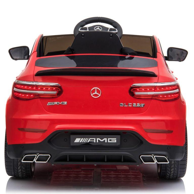 Masinuta electrica Mercedes Benz GLC 63 Red cu roti din cauciuc
