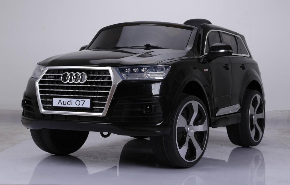 Masinuta electrica cu roti eva Audi Q7 Black