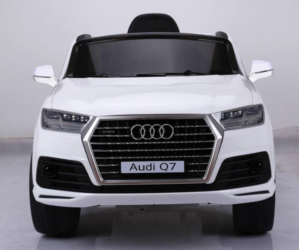 Masinuta electrica cu roti eva Audi Q7 White