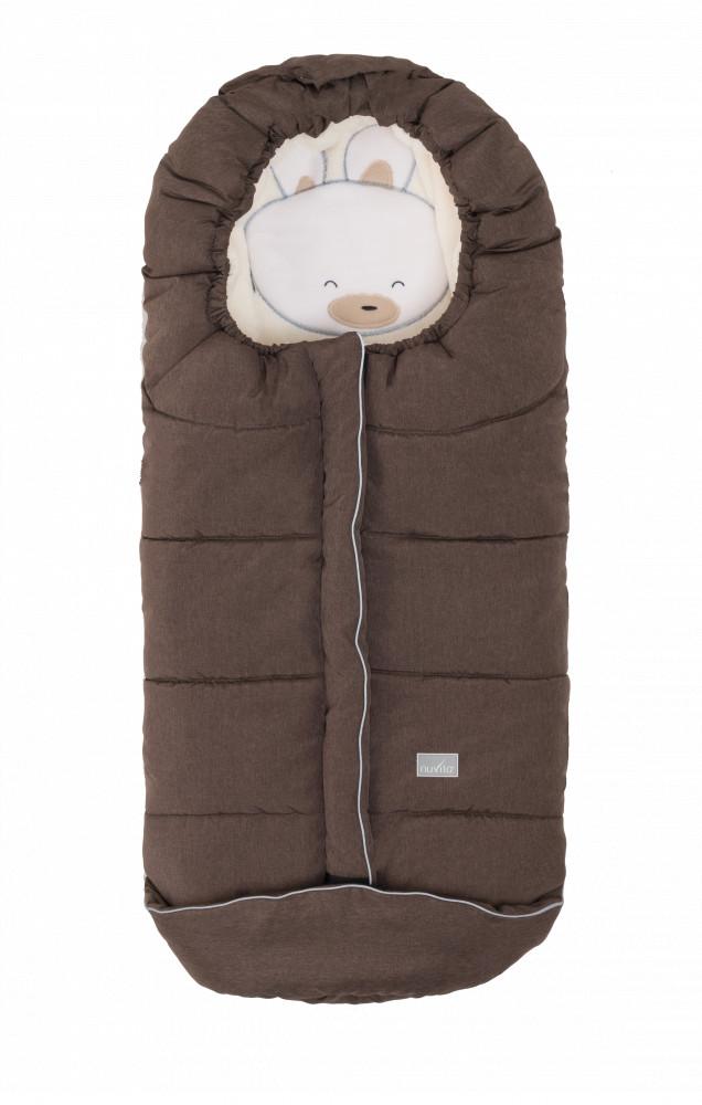 Sac de iarna 100 cm Junior Cuccioli Rabbit Melange Brown Beige 9605