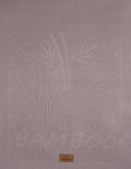 Paturica pentru bebelusi Baby Matex Thai cu fibre din bambus 70x100 cm 03