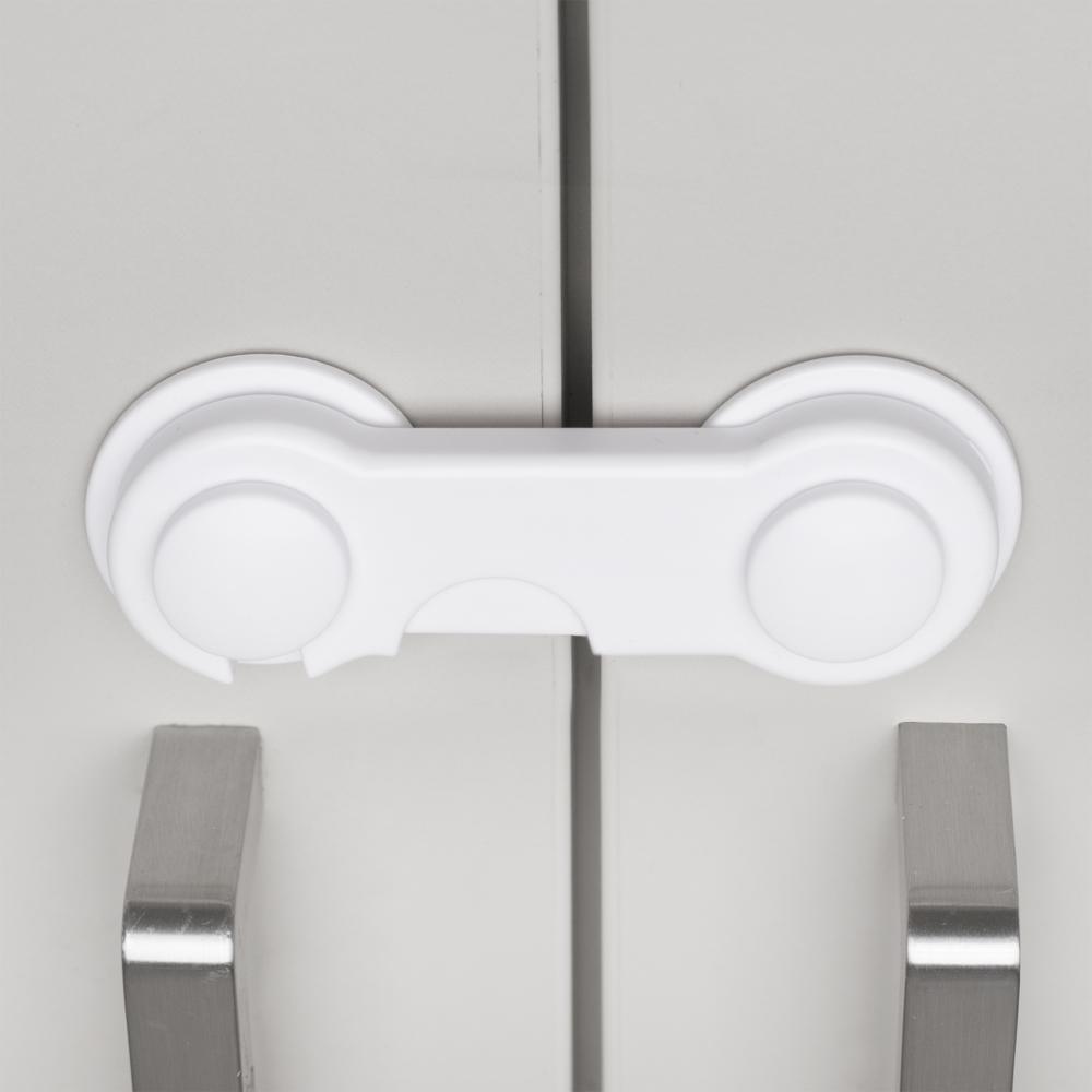 Protectie pentru dulapuri si sertare BabyJem White imagine