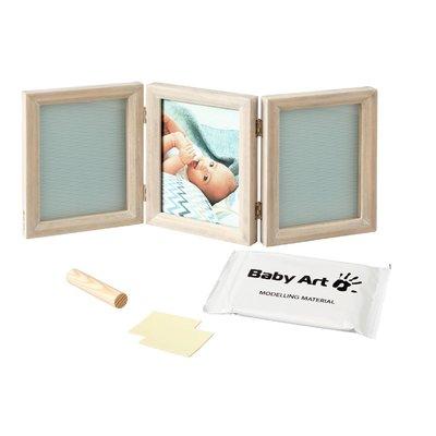 Rama foto cu dubla amprenta My baby touch Baby Art stormy imagine