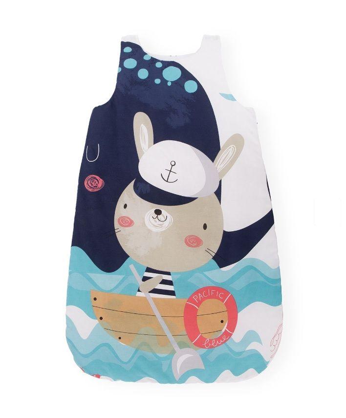 Sac de dormit KikkaBoo 6-18 luni Happy Sailor